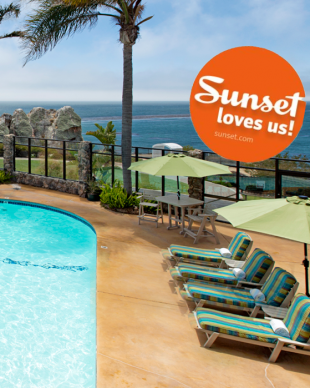 Sunset Magazine features Inn at the Cove