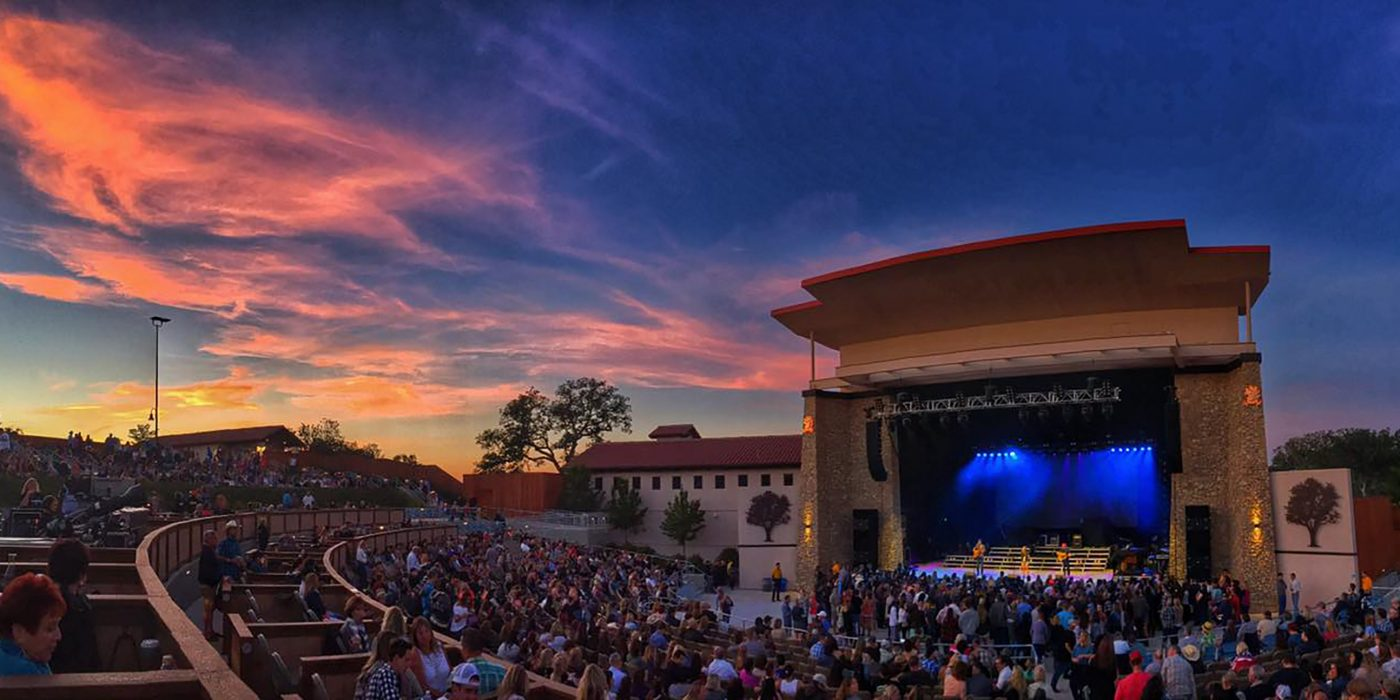 Vina Robles Amphitheatre at Sunset
