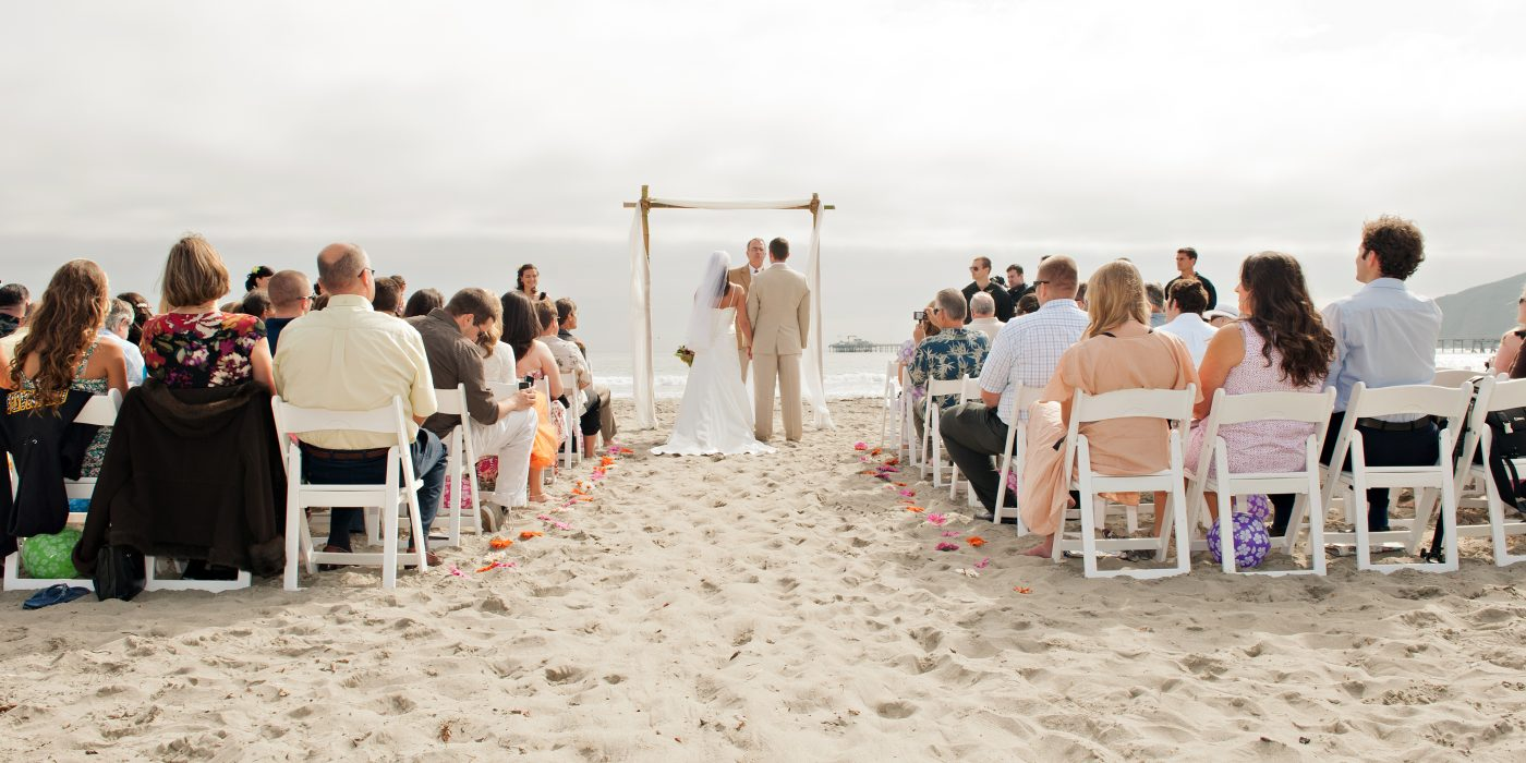 Beautiful wedding on the shores of Avila Beach
