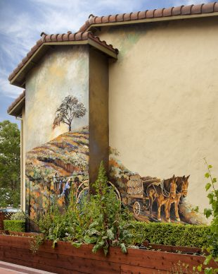 Dawn of Paso Robles Wine Mural Unveiled